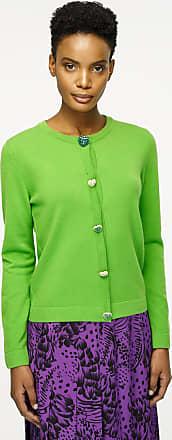 Escada Wool Cashmere Jewel Button Cardigan