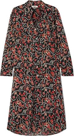 be8af8499ec Isabel Marant Eliane Printed Cotton-voile Dress - Black