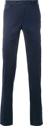 Canali straight-leg trousers - Azul