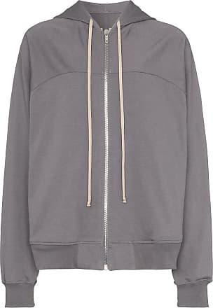 Rick Owens zip-up hoodie - Cinza