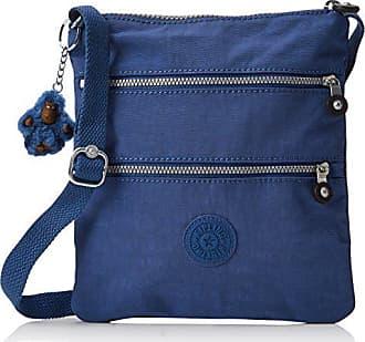 588cdc0fa Kipling New Rizzi, Bolsos bandolera Mujer, Blau (Jazzy Blue), 2.5x21x23