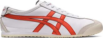 Onitsuka Tiger Mexico 66 Mens Basketball Shoes (Colore Bianco E Rosso), 48 EU