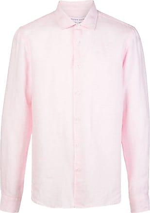 Orlebar Brown Camisa Giles mangas longas - Rosa