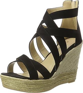9a96198b19 s.Oliver 28311, Womens Wedge Heels Sandals, Black (Black 001),