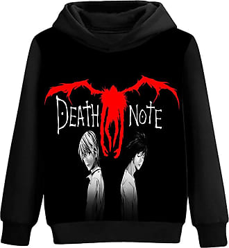 Haililais Death Note Pullover Personalise Hooded Long Sleeve Sweatshirt 3D Color Printing Fashion Hoodies Pullover Unisex (Color : A05, Size : XL)