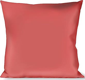 Buckle Down Pillow Decorative Throw Solid Salmon Orange