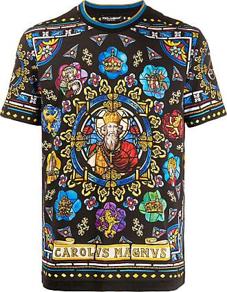 Dolce & Gabbana Camiseta Charlemagne - Preto