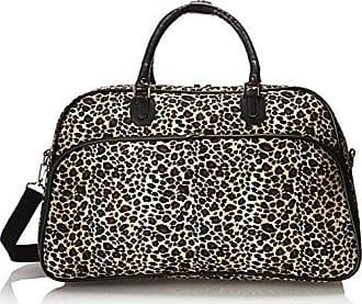 ea067dc2baea World Traveler 21-Inch Carry-On Shoulder Tote Duffel Bag, Leopard, One