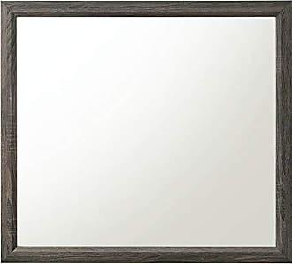 ACME ACME Furniture 27054 Valdemar Mirror, Weathered Gray