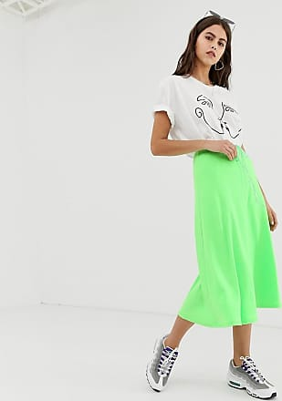 ZYA The Label midi skirt with waist strap detail-Green