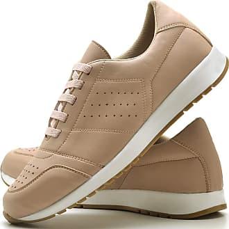 Juilli Tênis Sapato Casual Com Cadarço Feminino JUILLI 1102DB Tamanho:33;cor:Rosa;gênero:Feminino