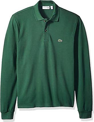 85113c8fb Lacoste Mens Short Sleeve Pique Classic Fit Polo Shirt, L1312, Green 8