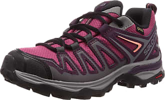 Salomon Salomon Womens Hiking Shoes, X Ultra 3 Prime GTX W, Malaga/Potent Purple/Desert Flower, Size: 3.5