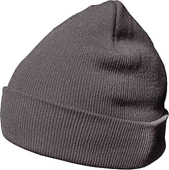 DonDon winter hat beanie warm classical design modern and soft platinum grey