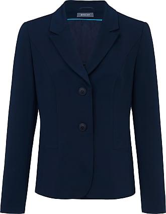 Basler Jersey blazer revere collar Basler blue
