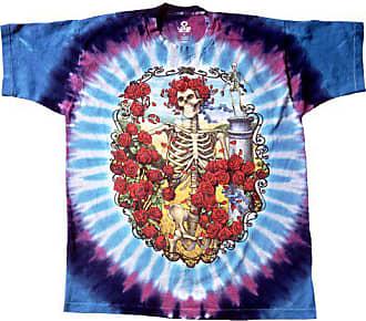 8a7ec2b4 Liquid Blue Mens Grateful Dead 30Th Anniversary Short Sleeve T-Shirt ,Multi,Large
