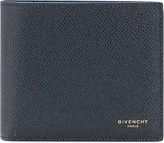 Givenchy Carteira dobrável com estampa de logo - Azul