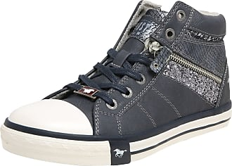 Mustang Shoes High Top Sneaker in Übergrößen Grau 1146 503 203 große Damenschuhe