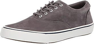 Sperry Top-Sider Mens Striper II CVO Washable Sneaker, Grey, 150 M US