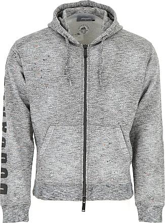 90d232da0ff3 Dsquared2 Sweatshirt für Herren, Kapuzenpulli, Hoodie, Sweats Günstig im  Sale, Grau,