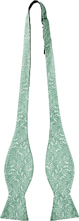 Jacob Alexander Mens Self Tie Freestyle Floral Bow Tie - Dusty Sage