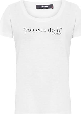 J. Chermann Camiseta You Can Do - Branco