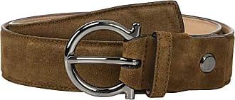Salvatore Ferragamo Adjustable Belt - 679949 (Brown Sugar) Mens Belts
