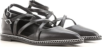 Lanvin Sandals for Women On Sale in Outlet, Black, Suede leather, 2019, 5.5 6 6.5 7.5