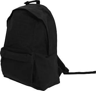 BagBase Bagbase Maxi Fashion Backpack / Rucksack / Bag (22 Litres) (One Size) (Black)