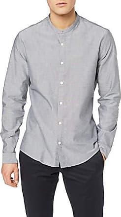 46 2 Pack Slim Fit Solid Camicia Business Uomo find Nero Taglia Produttore: 14.5 Black// Black