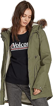 Volcom Less Is More 5K Parka army green combo