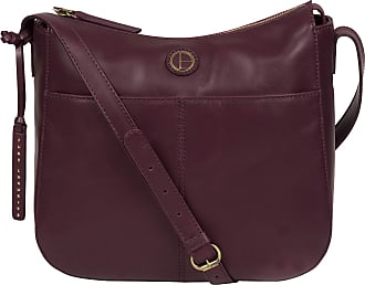 Pure Luxuries London Pure Luxuries London Farlow Womens 43cm Biodegradable Leather Cross Body Bag with Zip Over Top, Natural, Untreated 100% Cotton Lining and Adjustable S