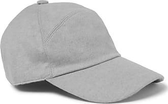 Loro Piana Storm System Baby Cashmere Baseball Cap - Gray