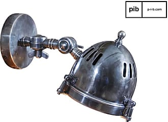 PIB Silver-plated vintage design wall lamp