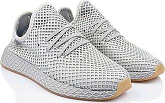 Adidas Cream Weiß Ash Grau Core Schwarz Adidas Deerupt