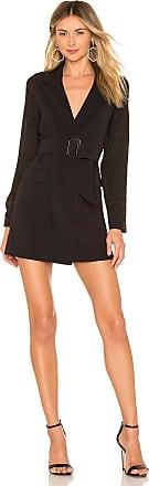 Privacy Please Reagh Blazer Dress in Black