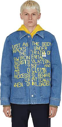 A.P.C. A.p.c. Brain dead imhotep denim jacket INDIGO DELAVE S