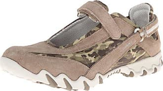 Mephisto ALLROUNDER by MEPHISTO Womens Niro Mary Jane Flat,Taupe Suede/Multi/Camouflage,10 M US