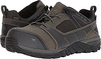 Irish Setter Work Mens Rockford Waterproof Nano-Toe Shoe, Grey/Black, 12 D US