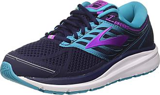 Brooks Womens Addiction 13 Training Shoes, Blue (Evening Blue/teal Victory/purple Cactus Flower), 4.5 UK