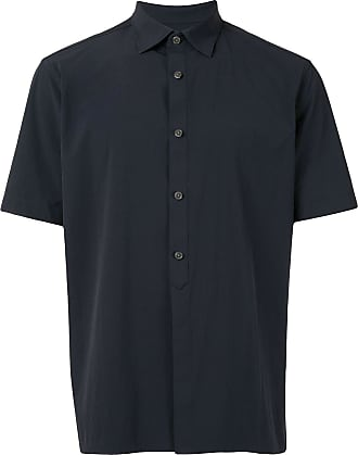 Durban plain short-sleeved shirt - Azul