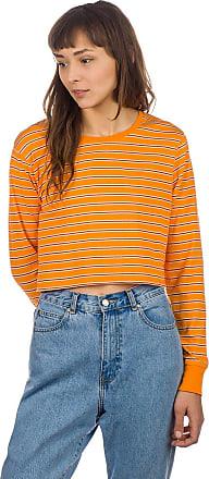 Zine Hannah Long Sleeve T-Shirt yellow stripe
