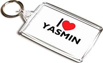 ILoveGifts KEYRING - I Love Yasmin - Girls Name Gift