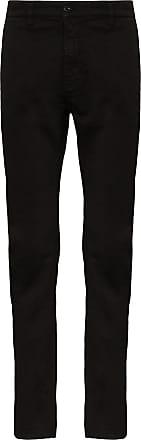 Nudie Jeans Calça chino slim Adam - Preto
