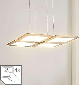 Lampenwelt.com Lámpara colgante LED Elian atenuable