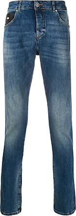 John Richmond Calça jeans reta - Azul