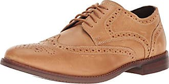Rockport Mens Style Purpose Wing Tip Oxford, Light Tan Leather, 9 W US