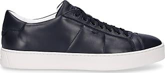 Santoni Flat Shoes Blue 20850