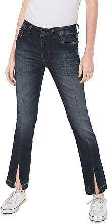 ea3ff5f56 Ellus Calça Jeans Ellus Reta Comfort Azul-marinho