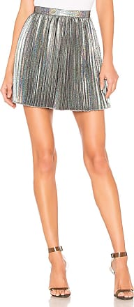 House Of Harlow x REVOLVE Andre Skirt in Metallic Silver